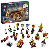 LEGO 75964 Harry Potter Advent Calendar 2019 with 7 Minifigures, Micro Hogwarts Express Train and He