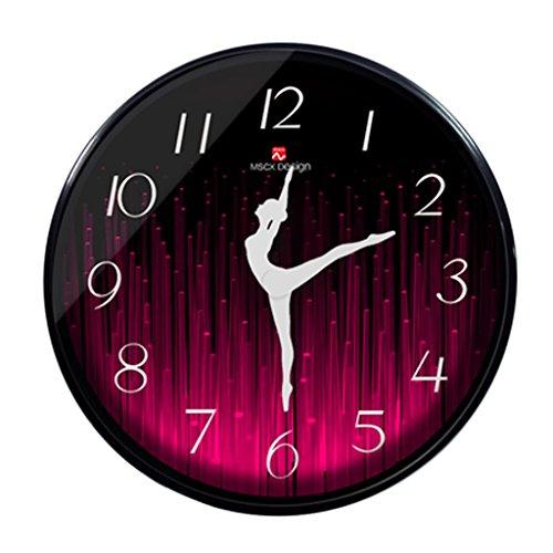 Orologio da parete coco soggiorno viola forma di colore rosso orologio moderno orologio da polso orologio da tasca orologio da tasca personalizzato nordic metal bells home