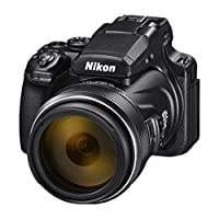 Nikon Coolpix P1000 Kompakt Fotoğraf Makinası, 125x Optik Zoom, 4K Kayıt