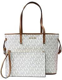 eec8458b3a9a Michael Kors Jet Set Travel LG tote Drawstring Bag Vanilla Acrn (35T8GTVT9B)