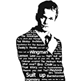 Love St - Barney Stinson Quotes | HIMYM | Neil Patrick Harris || Special Paper | Poster For Girls | Poster For Boys | Poster For Kids | Home Decal Poster | Home Decoration Poster | Poster For Home And Office | Quirky Posters