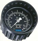 Manometer mit Schutzkappe 0-12 bar Ø 80 mm EWO-151-140