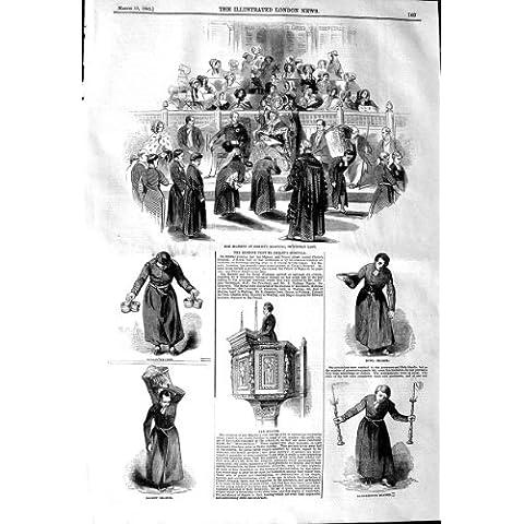 CUENCO 1845 DEL PORTADOR DEL LECTOR DEL HOSPITAL DE LA REINA CRISTO DE LA MAJESTAD