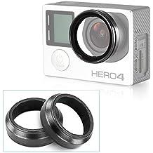 Neewer® Protection Housse Objectif Protecteur Lens pour Caméra Appareil Photo Gopro HD Hero 3 Hero 3+ (2 Pièces)