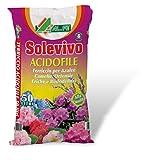 Solevivo terriccio terra per acidofile 20 litri