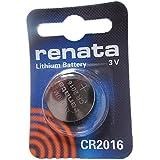 1 x Renata CR2016 Lithium batterie
