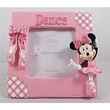 Car Bomboniere objetos para Sempre WD P/fotos Minnie bailarina, plástico, multicolor, 13.5x 16x 16cm