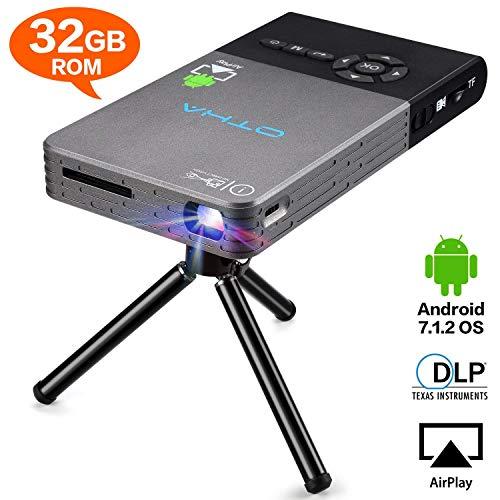Mini Projecteur Portable, OTHA Entrée HDMI Vidéoprojecteur, 32GB...