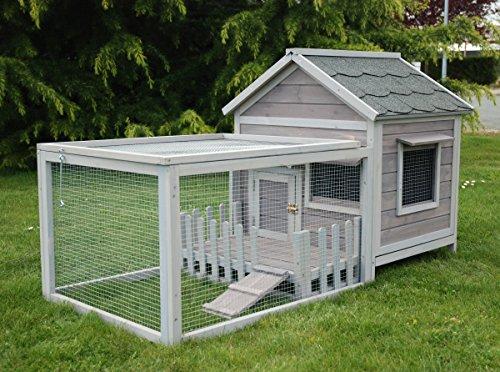Cottage Animals - Clapier pour lapins, cobayes, cochons d'inde - CPF