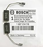 Echter originaler Bosch Kohlebürsten 1607014116 für Bosch PWS 7-115 GWS 7-115 ( GWS 7-115 mit einer P / N von 3601C88171) GWS 7-125 GWS 9-125 CE GWS 500 GNF 20 CA S4B
