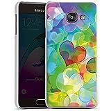 Samsung Galaxy A3 (2016) Housse Étui Protection Coque Amour Plexi Bunt C½ur