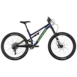 'Kona Process 153 27,5 Matt Navy/Silver/Green 2017 MTB Fully