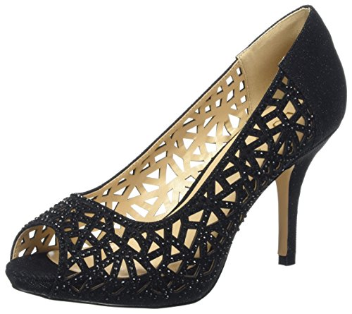 Lotus Flink, Scarpe Spuntate Donna Black (Black/Diamante)
