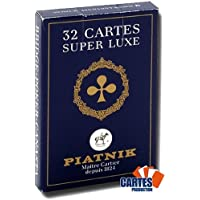Jeu de 32 cartes : Belote super luxe