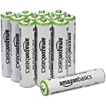 Amazon Basics AA Rechargeable Batteries 2000mAh (12-Pack) Pre-charged