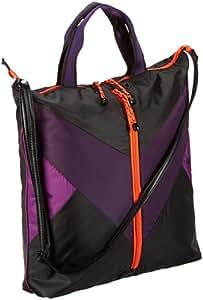 Puma 071729 01 Avenue Shopper Sac à main pour femme Noir/violet foncé/violet