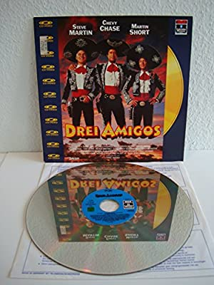 Drei Amigos (Laserdisc)