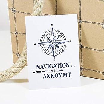 """Postkarte """"Navigation"""""""