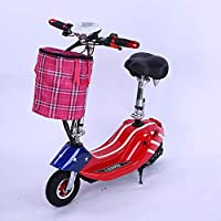 Stile: scooter elettrico da viaggio di modaMateriale del prodotto: lega di alluminioPeso: 20 kg, la batteria pesa circa 2 kgTipo di motore: motore con mulinello da 10 pollici a coppia elevataPotenza motore: uscita continua 24V400W, fino a 500WImpiant...