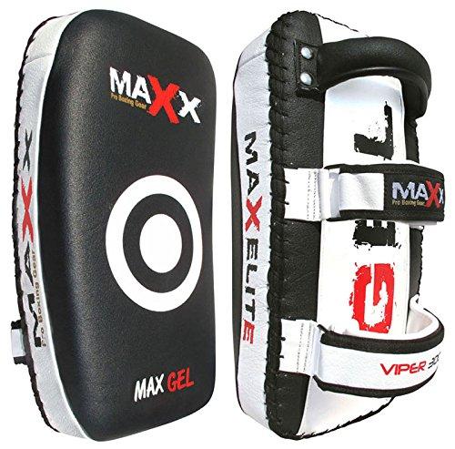 Pair-Maxx-Blkw-Curved-Thai-Pads-Kick-boxing-pad-training-Pad-boxing-pad
