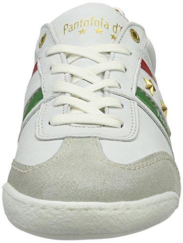 Pantofola d'Oro Imola Romagna Uomo Low, chaussons d'intérieur homme Multicolore (Bright White)