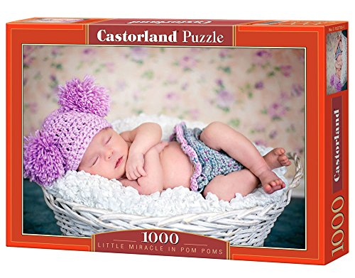 Castorland C-102730-2 - Piccolo Miracolo a PON PON, Puzzle 1000 Parte