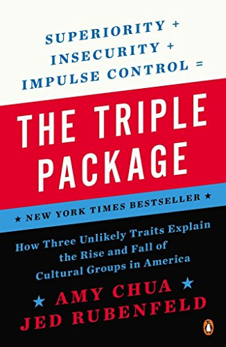 Portada del libro [(The Triple Package : How Three Unlikely Traits Explain the Rise and Fall of Cultural Groups in Americ a)] [By (author) Amy Chua ] published on (January, 2015)