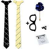 #1: COCO CHANEL Reversible Matte Black & Golden Mirror HexTie Homme Kit (With Box & Cleaning Wipe)