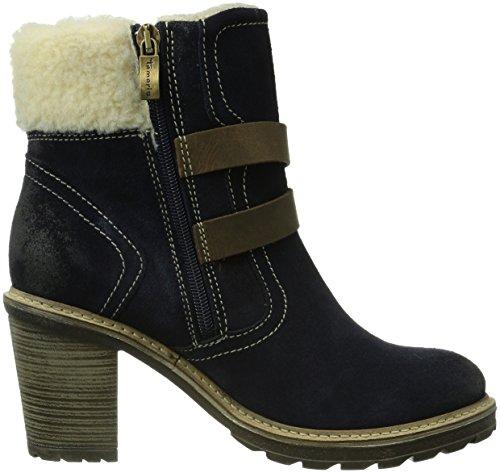 tamaris 26485 damen biker boots mehrfarbig navy comb. Black Bedroom Furniture Sets. Home Design Ideas