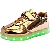 Free Fisher Jungen/Mädchen LED Leuchtend Sportschuhe Sneaker Turnschuhe