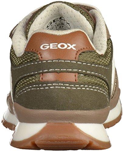 Geox J7215B Jungen Halbschuhe Beige