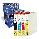 4 XXL Druckerpatronen Kompatibel für Epson T29XL Multipack Schwarz Color