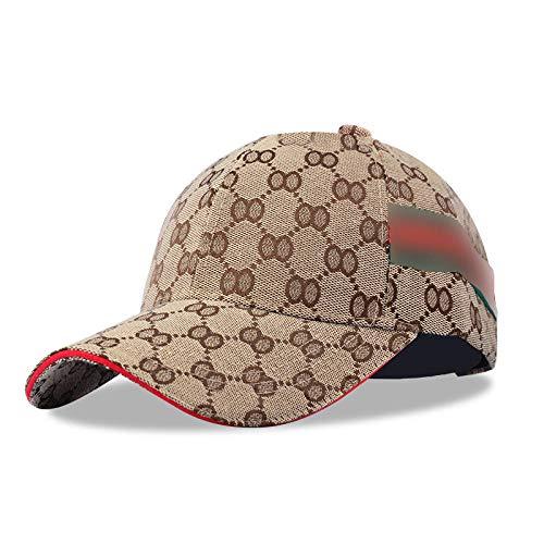 YanLong Fashion Sport Plaid Cap Reisen Sonnencreme Leinwand Visier Baseball Cap Khaki Crown Visor Beanie Khaki