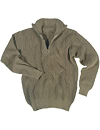 Mil-Tec Marine Pullover Troyer, Olive 46–58