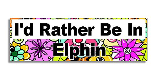 id-rather-be-in-elphin-car-sticker-sign-auto-adesivi-decal-bumper-sign-5-colours-flowers