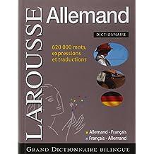 Grand Dictionnaire Allemand Français - Français - Allemand