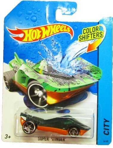 Hot Wheels - 2014 Color Shifters - City 16/48 - Super Stinger by Mattel