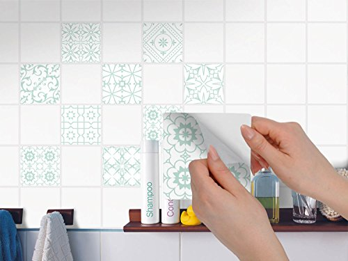 Piastrelle decorative per cucina stickers design adesivo decori