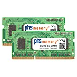 PHS-memory 8GB (2x4GB) Kit RAM módulo para Synology DiskStation DS1815+ DDR3 SO DIMM 1600MHz PC3L-12800S