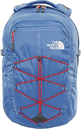The North Face Borealis - Mochila, color azul / rojo, talla OS