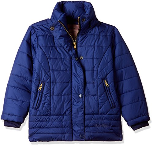 Fort Collins Girls' Regular Fit Synthetic Jacket (89277_Royal Blue_24 (4 - 5 years))