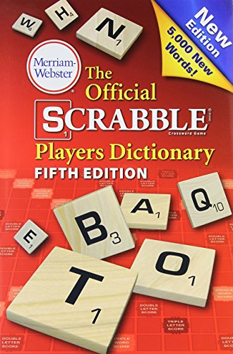 the-official-scrabble-players-dictionary-fifth-edition-by-merriam-webster-6-aug-2014-hardcover