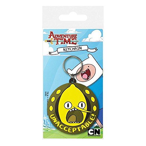 adventure-time-lemongrab-unnacceptable-pvc-keyring