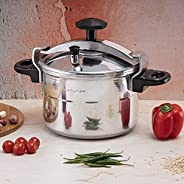 Royalford 5 Liters Aluminum Pressure Cooker, Silver