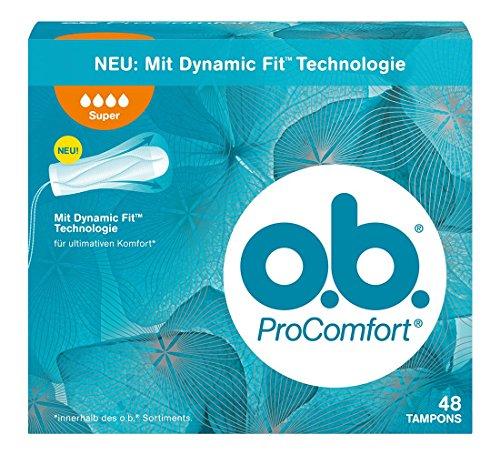 o.b. ProComfort Super Tampons, 1er Pack (1 x 48 stuck)