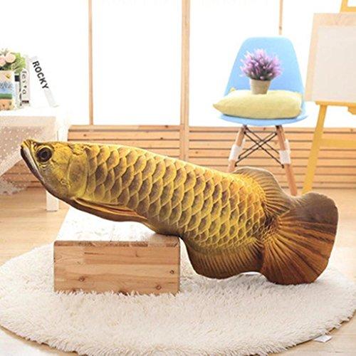 Stil-massage-stuhl (DZW Simulation Fisch Kissen halten Puppe Kreative Plüsch Spielzeug Abnehmbar und waschbar Sofa Geh ins Bett Geburtstagsgeschenk , 120 cm, Eine Vielzahl von Stilen)