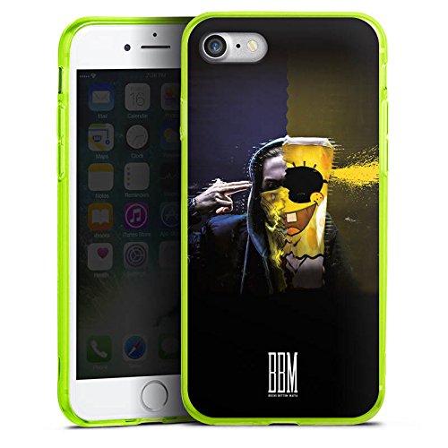 Apple iPhone 8 Silikon Hülle Case Schutzhülle Spongebozz Fanartikel Merchandise Sun Diego Silikon Colour Case neon-grün