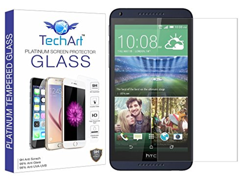 TechArt 9H Hardness Toughened Scratch Proof [2.5D] Tempered Glass Screen Protector for HTC Desire 816 / Desire 816G  available at amazon for Rs.149