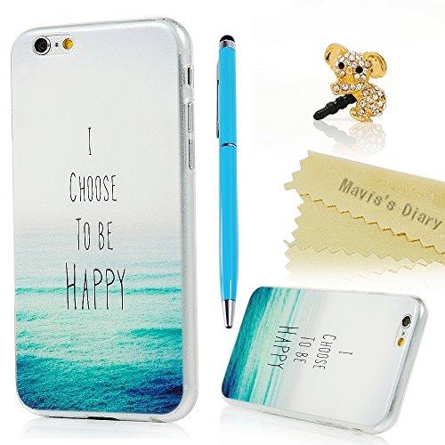 iPhone 6 6s Custodia in Gel TPU Silicone Cover - Mavis's Diary morbido protettiva TPU Case Cover Custodia per iPhone 6 / 6s 4.7