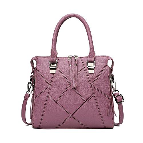 Mefly 2017 Koreanischer Mode Handtaschen Handtasche Mode Farbe Violet
